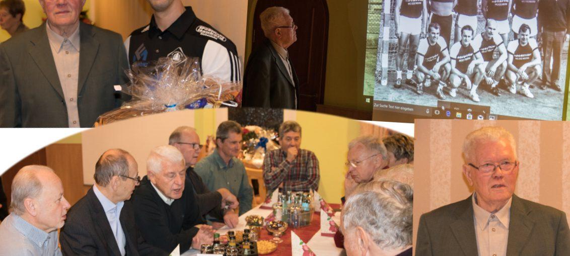 ältestes Vereinsmitglied Hans Braun 90 Jahre alt