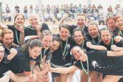 Frauen feiern Meisterschaft 2018