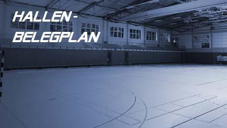 Plan: Hallenbelegung